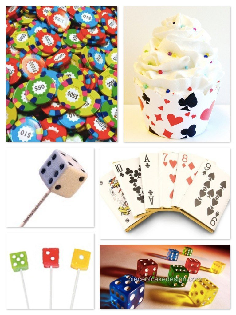 Edible Card Game Party Treats
