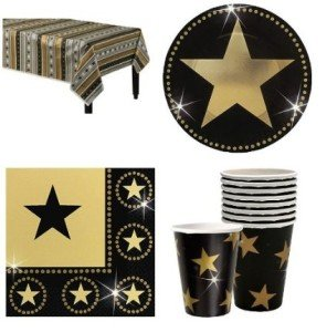 Hollywood Star Attraction Party Pack for 8 Guests
