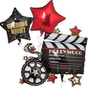 Hollywood Stars Mylar Bouquet