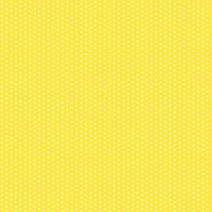 Magical Yellow With Dots Scrapbook Paper