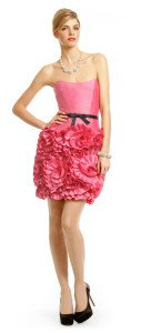 Milly Pink Almond Rosette Dress