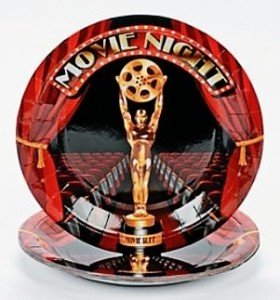 Movie Night Dessert Plates 8ct