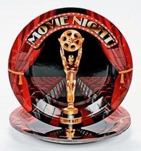 Movie Night Dessert Plates 8ct