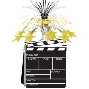 Movie Set Clapboard Centerpiece Party Accessory
