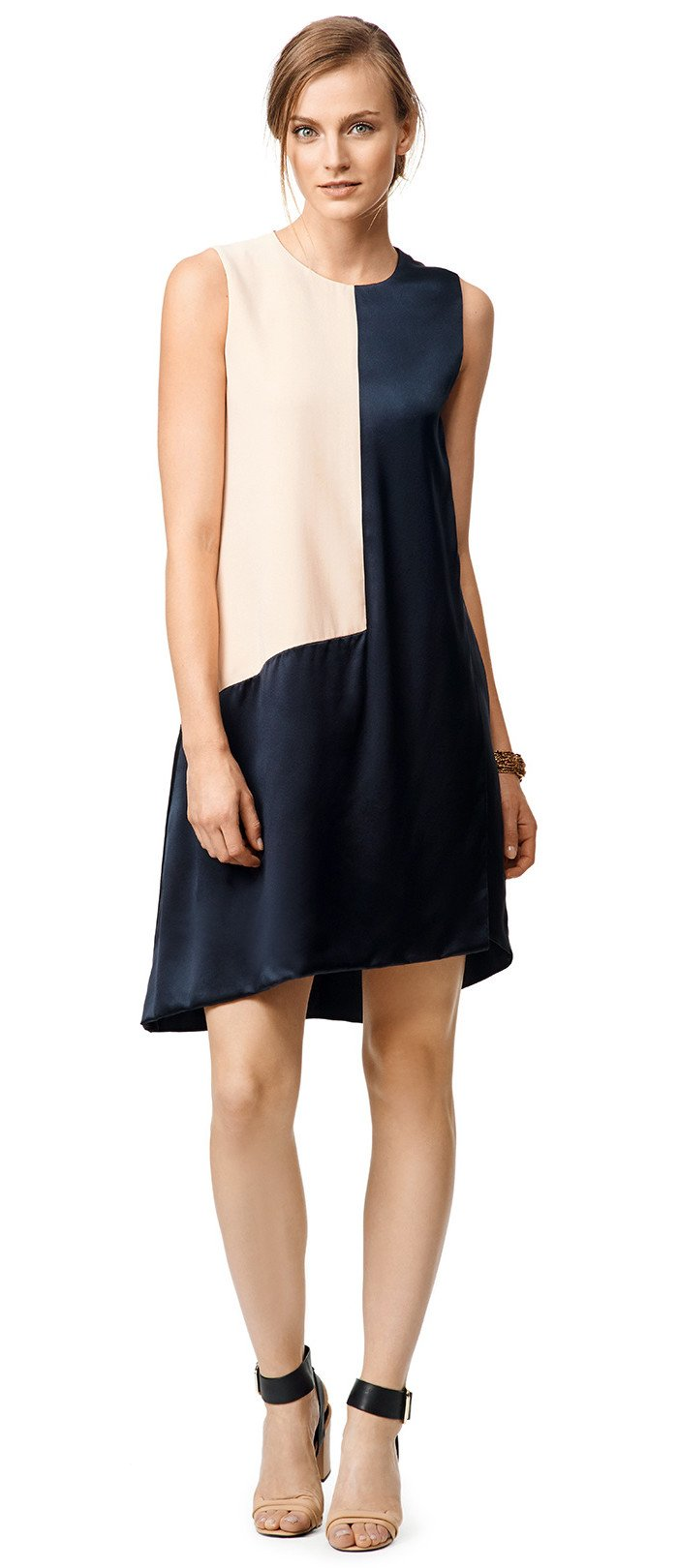 Narciso Rodriguez Geo Shift Dress