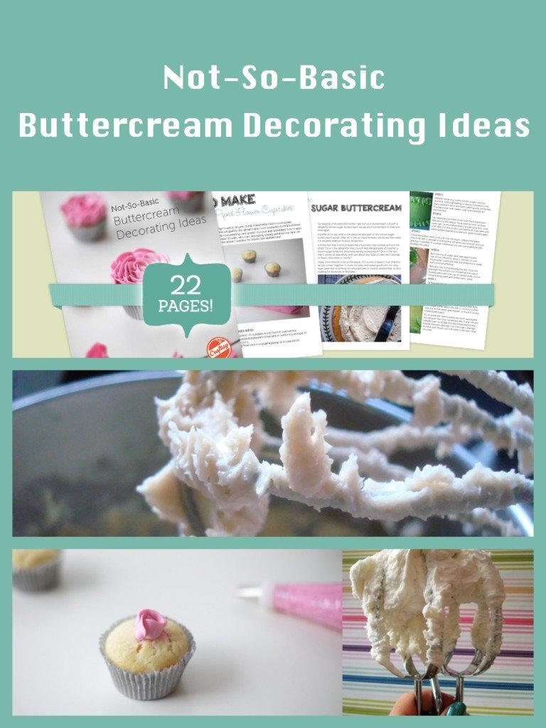 Cake Decorating, Not so basic buttercream decorating ideas