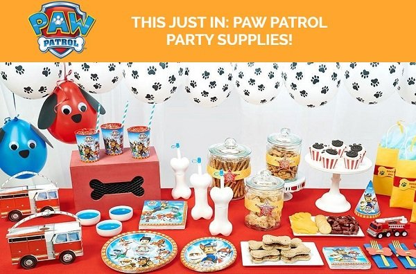 Paw Patrol Birthday Party Planning Ideas & Supplies