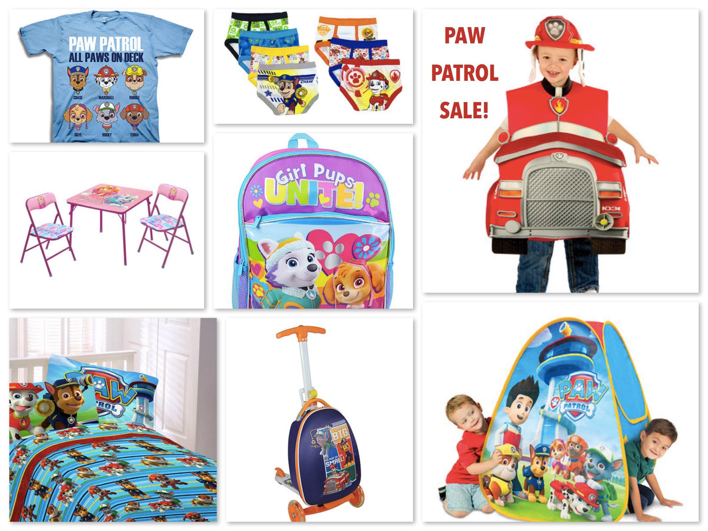 Paw Patrol Sale!