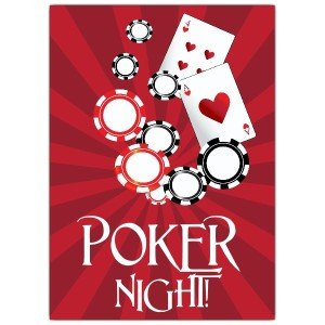 Poker Night Invitations