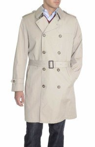 Ralph Lauren Double Breasted 3 : 4 Length Cotton Blend Trench Coat Tan