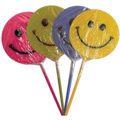 Smiley Face Lolli Pops