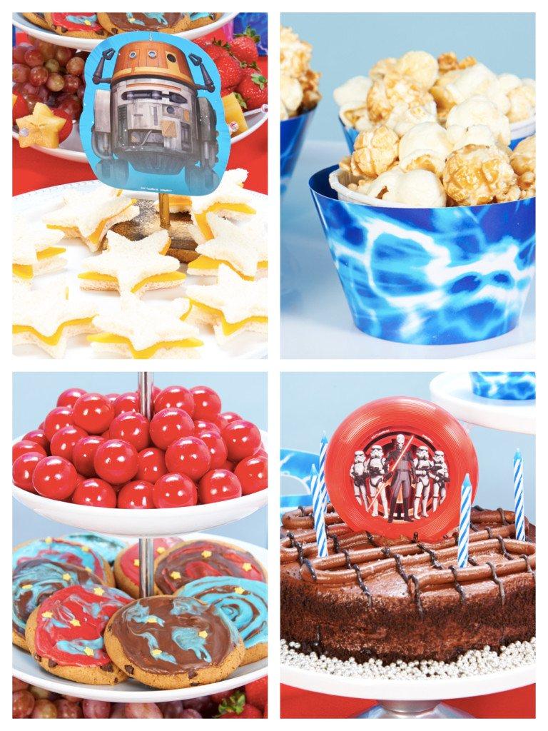 Star War Rebels Party Food Ideas