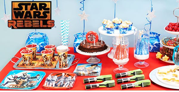 Star Wars Rebels Birthday Party Planning, Ideas & Supplies