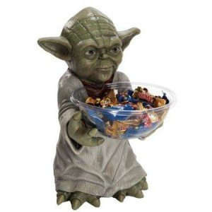 Star Wars Yoda Candy Bowl and Holder