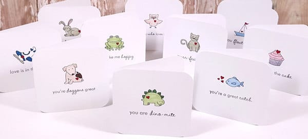 Valentines Day Mini Cards
