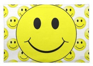 Smiley Face Place Mats