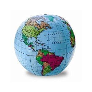 12-Inch Inflatable Globe