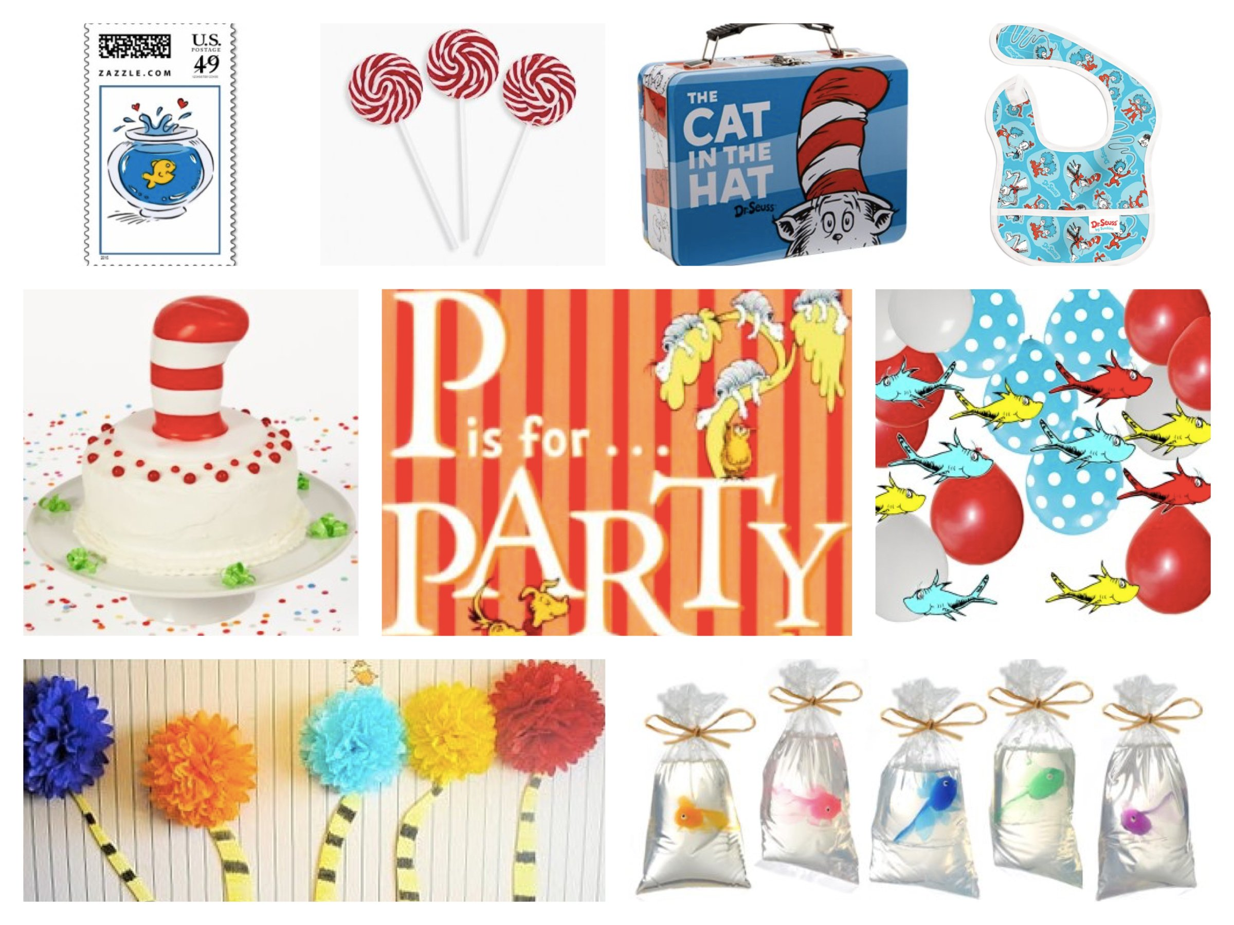 Dr. Seuss Theme Party Planning Ideas Supplies