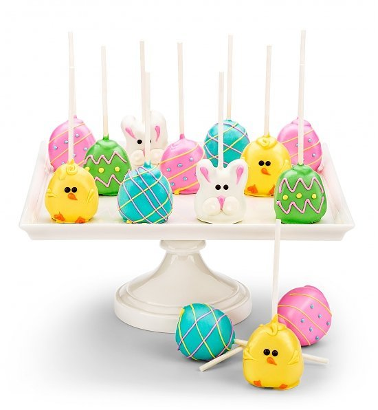 Easter Cake Pops, Best Easter Hostess Gifts