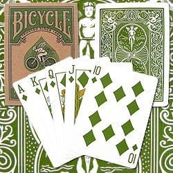 Eco Friendly Go Green Bicycle Poker Playing Cards