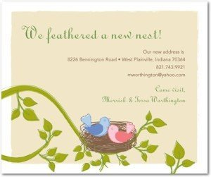 Feathered Nest Moving Cards