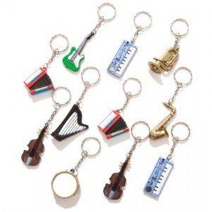 Musical Instrument keychains