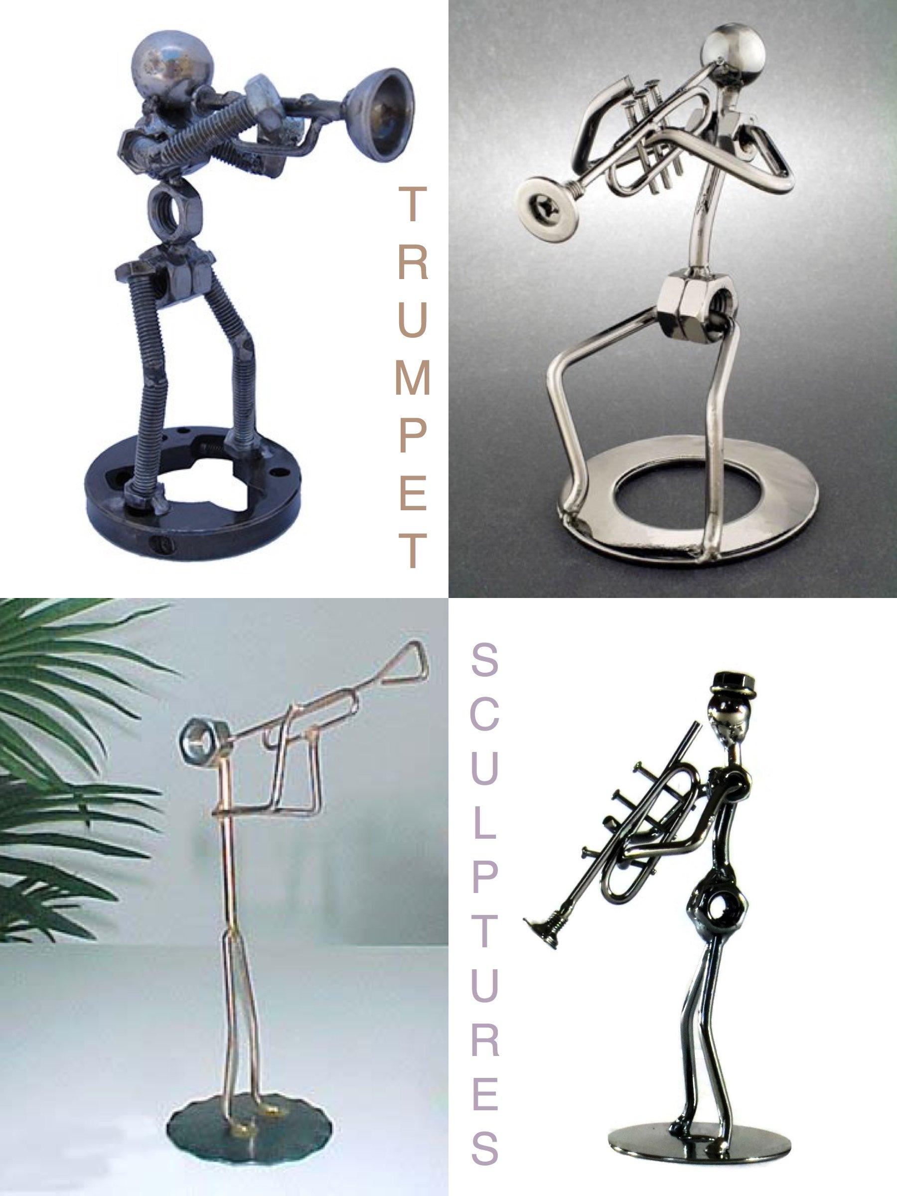 Trumpet Sculpture Centerpiece Ideas