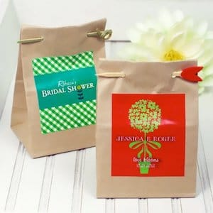 Personalized Seed Packet Wedding Favors