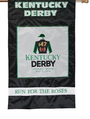 142nd Kentucky Derby Nylon Flag