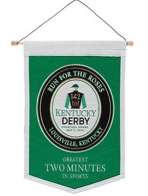 142nd Kentucky Derby Traditions Banner