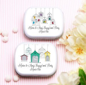 Bird Cage Mint Tin Party Favors