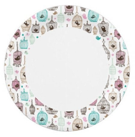 Bird cage paper plates