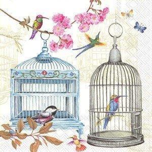 Birdcages Paper Napkins