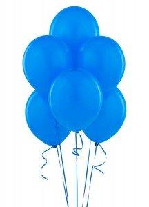 Blue Matte Balloons