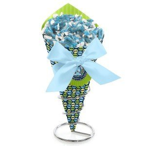 Boy Baby Shower Candy Bouquet with Frooties