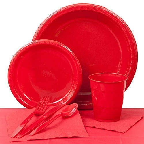 Classic Red Paper Goods