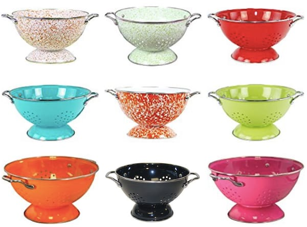 Colored Colanders