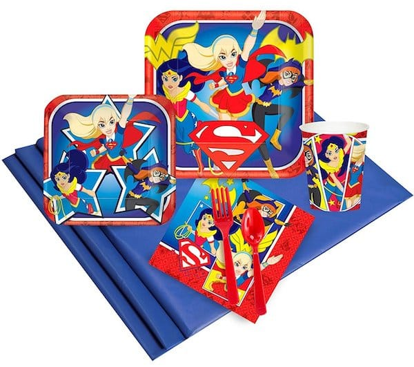 DC Comics Super Hero Girl Party Supplies