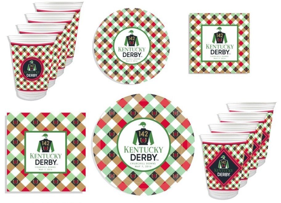 Kentucky Derby Party Pack, horse racing theme party supplies