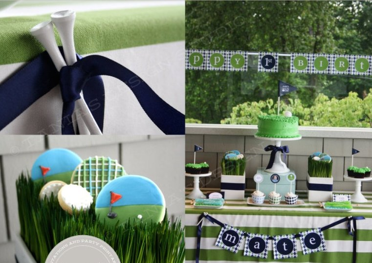 Printable Golf Party Package