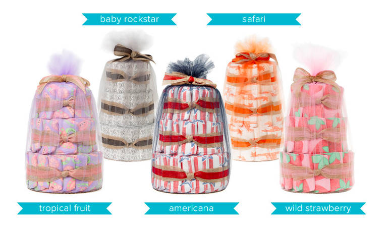 The Honest Company Diaper Cakes