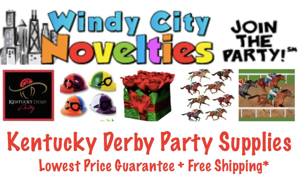 Windy City Novelties Kentucky Derby Party Supplies