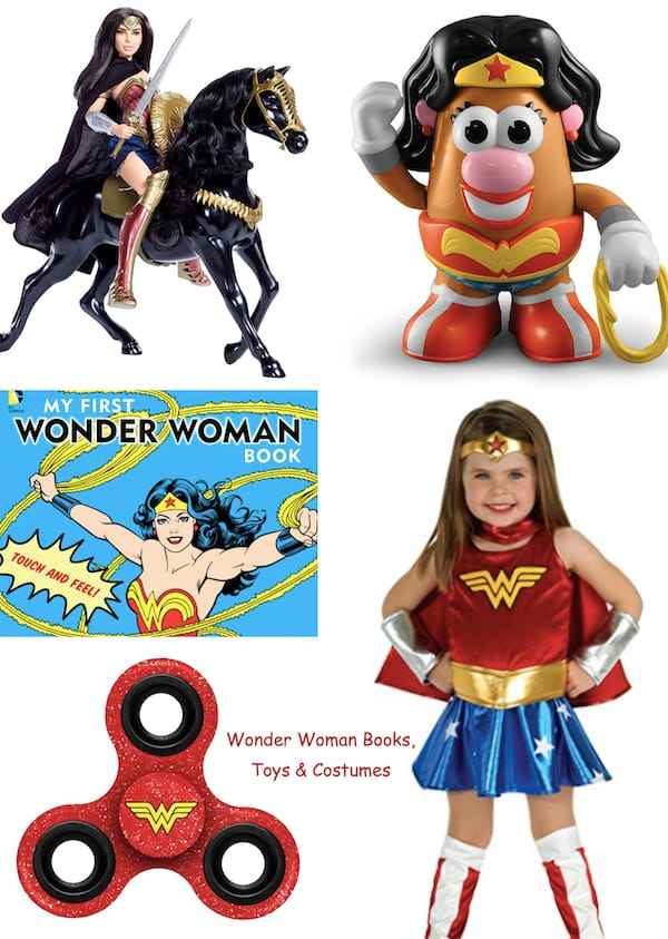 Wonder Woman Books Toys & Costumes