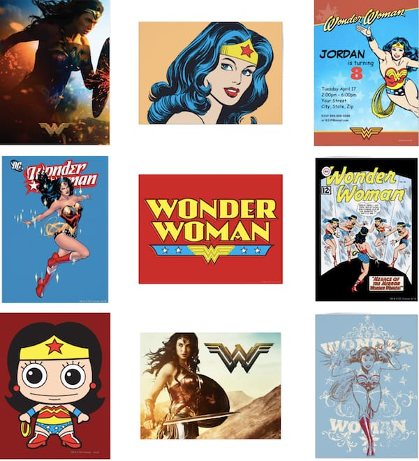 Wonder Woman Cards & Invitations