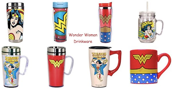 Wonder Woman Drinkware