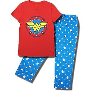 Wonder Woman Superhero Pajamas