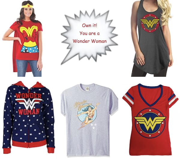 Wonder Woman Tops