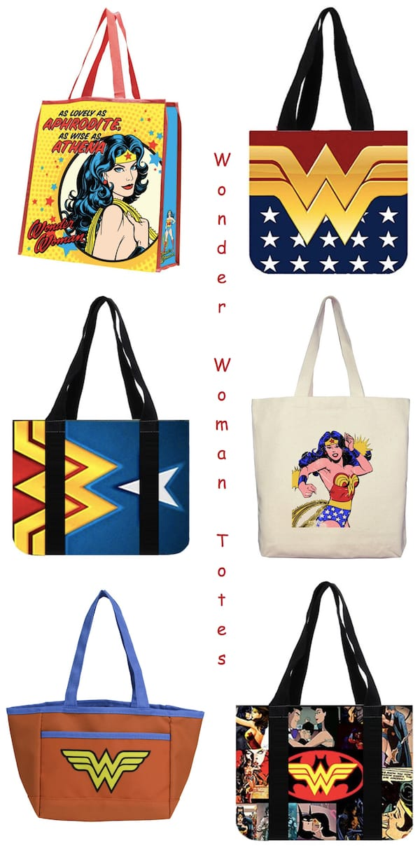 Wonder Woman Tote Bags