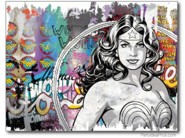 Wonder Woman Party & Gift Ideas