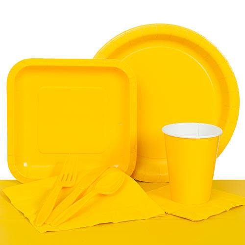 Yellow Paper Party Pack